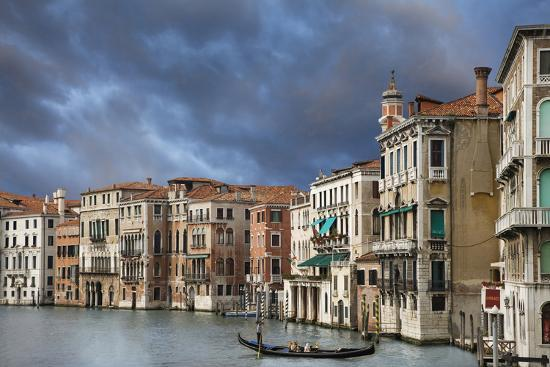 A Gondola on the Grand Canal, Venice, Italy-Jaynes Gallery-Photographic Print