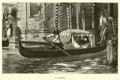 A Gondola--Giclee Print
