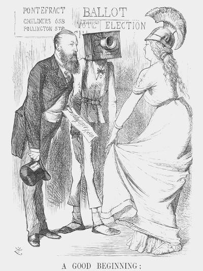 A Good Beginning.., 1872-Joseph Swain-Giclee Print