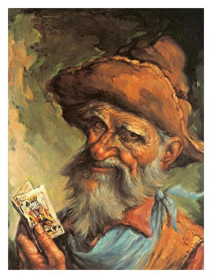 A Good Hand-Endre Szabo-Art Print