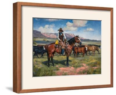 A Good Hand-Jack Sorenson-Framed Photographic Print
