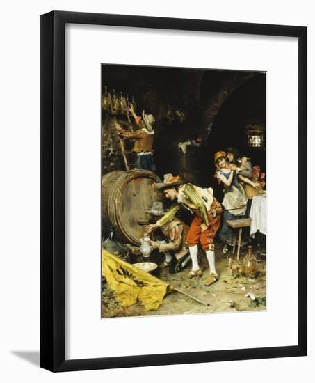 A Good Wine-Federigo Andreotti-Framed Premium Giclee Print
