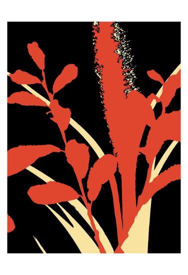 A Graphic Organic 4-Marilu Windvand-Art Print