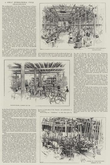 A Great International Cycle Amalgamation--Giclee Print
