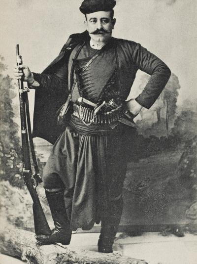 A Greek Cretan Patriot--Photographic Print