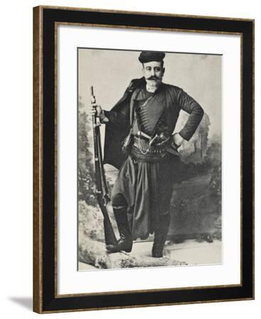 A Greek Cretan Patriot--Framed Photographic Print