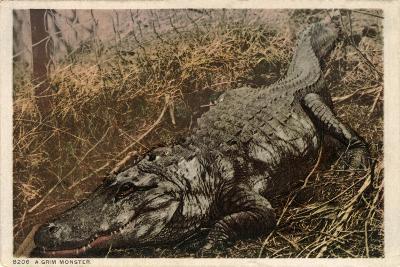 A Grim Monster, C.1915--Giclee Print
