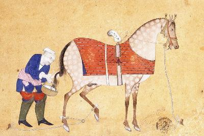 A Groom with a Horse, 1694--Giclee Print