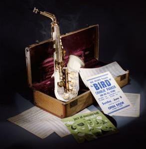 A Group of Charlie Parker Memorabilia