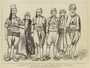 A Group of Criminals in the Chief Prison, Stamboul