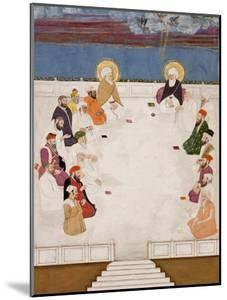A Group of Indian Saints and Holy Men, Including Mullah Shah and Aurangzeb, Seated, C.1725