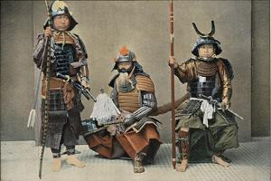 A Group of Samurai, C1890