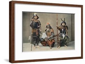 A Group of Samurai, C1890