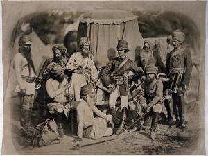 A Group of Sikh Officers and Men, 1858