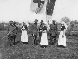 A Group of Unidentified Officers