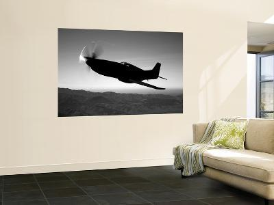 A Grumman F6F Hellcat Fighter Plane in Flight-Stocktrek Images-Giant Art Print