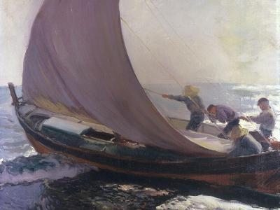 A Gust of Wind, 1904-Joaqu?n Sorolla y Bastida-Giclee Print