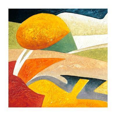 A Gust of Wind I-Marko Viridis-Art Print