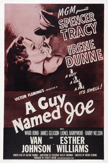 A Guy Named Joe--Poster