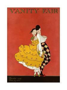 Vanity Fair Cover - December 1914 by A. H. Fish