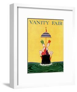 Vanity Fair Cover - February 1916 by A. H. Fish