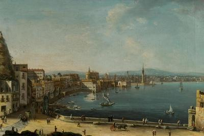 A Harbour in Italy (St. Lucia)-Pietro Antoniani-Giclee Print