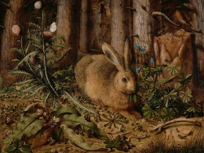 A Hare in the Forest, c. 1585-Hans Hoffmann-Giclee Print