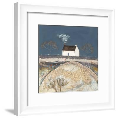 A Harsh Frost Fell upon the Meadow-Louise O'Hara-Framed Art Print
