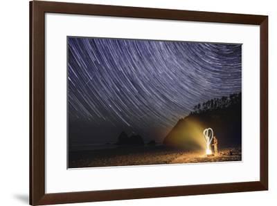A Heart A Campfire And The Stars-Jason Matias-Framed Giclee Print