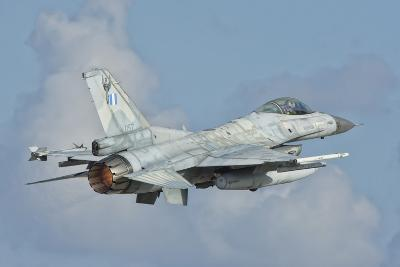 A Hellenic Air Force F-16 Taking Off-Stocktrek Images-Photographic Print