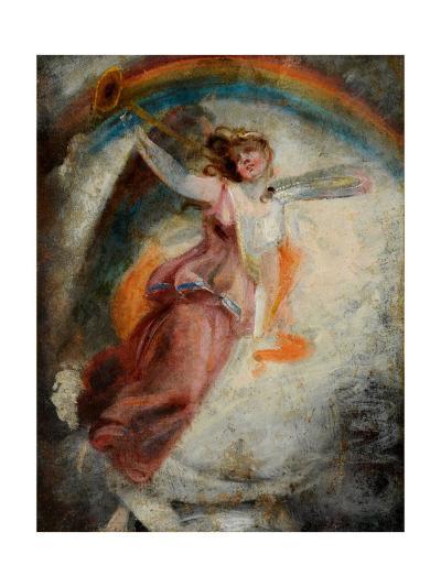 A Herald Angel-John Constable-Giclee Print