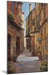 Village Alleyway by A Herbert