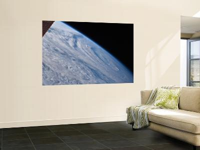 A High-Oblique View of the Extra-Tropical Unnamed Cyclone That Merged with Hurricane Earl-Stocktrek Images-Wall Mural
