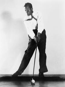 A High-Speed Photograph of Bobby Jones Making an Iron Shot, 1938