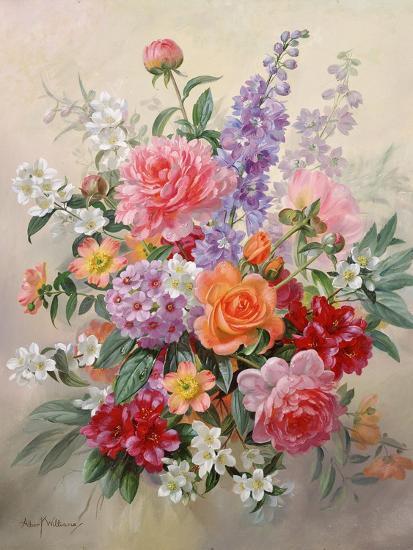 A High Summer Bouquet-Albert Williams-Giclee Print