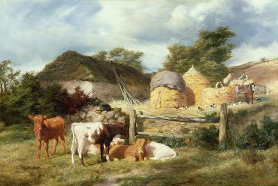 A Highland Croft, 1873-Peter Graham-Giclee Print