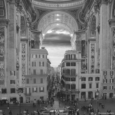 A Hole in the Wall-Thomas Barbey-Giclee Print