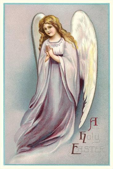 A Holy Easter, Angel--Art Print