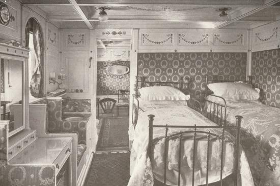 A Home on the Rolling Deep. Aboard a Royal Mail.', 1914-Unknown-Photographic Print