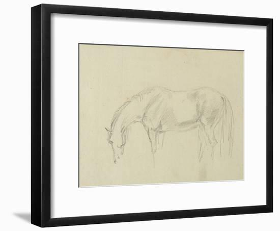A Horse Grazing-Sawrey Gilpin-Framed Giclee Print