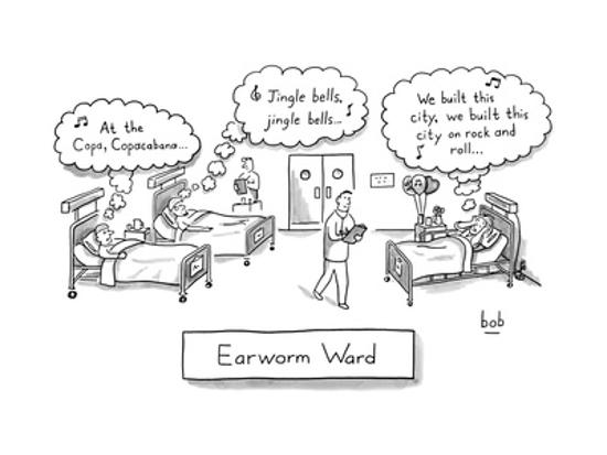 A hospital where all the patients have annoying songs stuck in their head  ... - New Yorker Cartoon' Premium Giclee Print - | Art.com