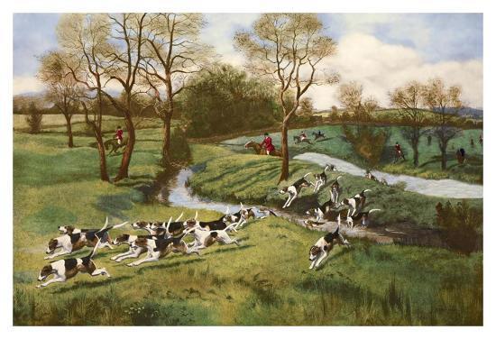 A Hot Scent-G^d^ Rowlandson-Art Print
