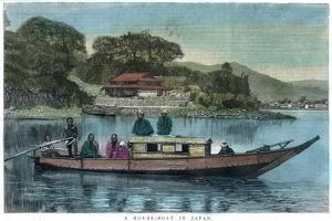 A House-Boat in Japan, 1888