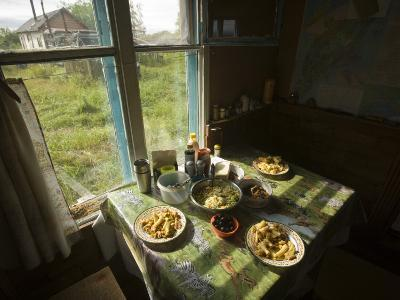 A House in the Kronotsky Nature Reserve-Michael Melford-Photographic Print
