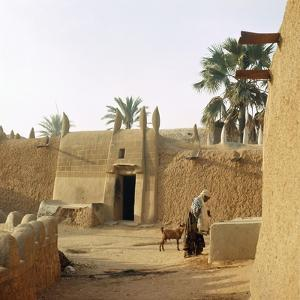 A House Made of Dried Mud in the Old Part of Kano, One of the Major Hausa-Fulani City States of…