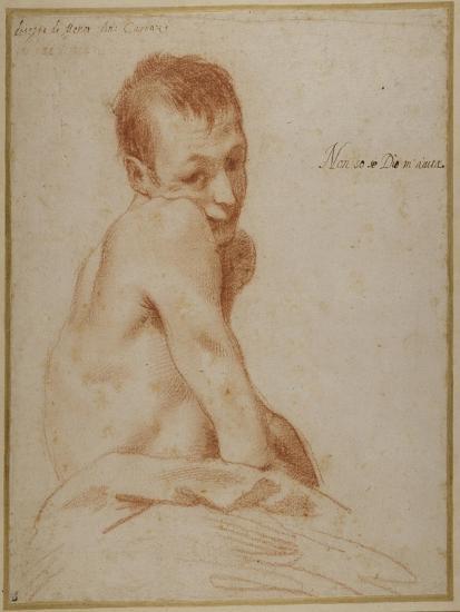 A Hunchback Boy-Annibale Carracci-Giclee Print