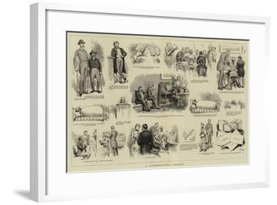 A Hydropathic Legend--Framed Giclee Print