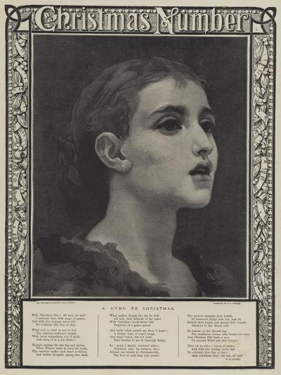 A Hymn to Christmas-Frederic Leighton-Giclee Print