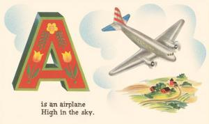 A is an Airplane