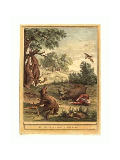 A.J. De Fehrt after Jean Baptiste Oudry (French--Giclee Print